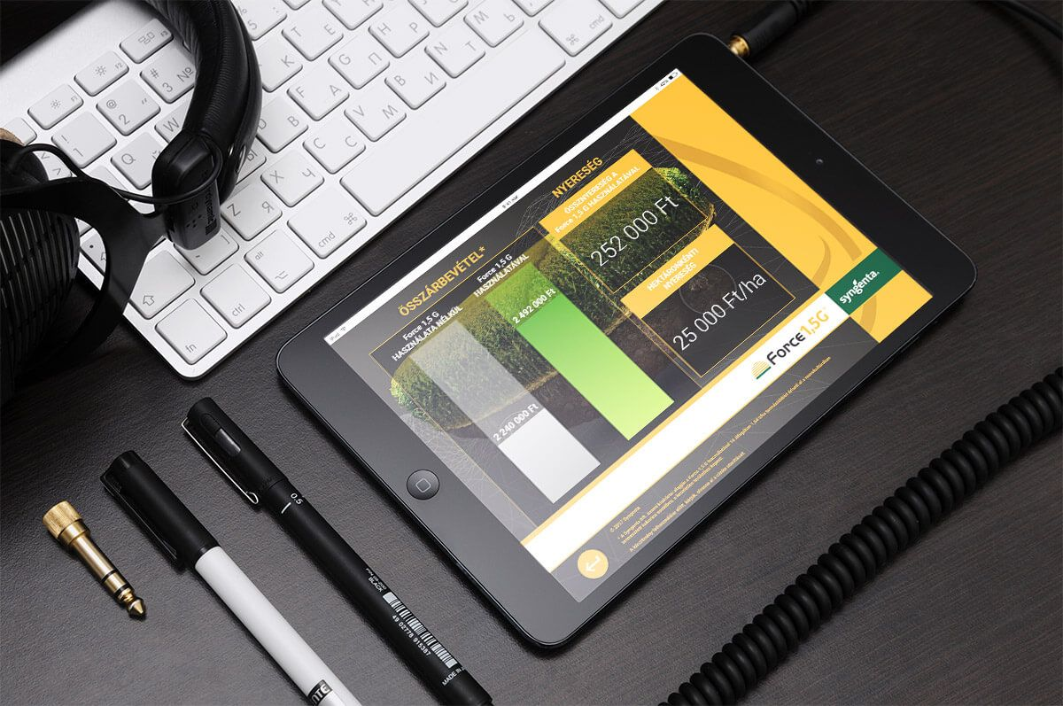 értékesítés támogató applikáció fejlesztés táblagépes alkalmazás fejlesztés alkalmazásfejlesztés B2B marketing