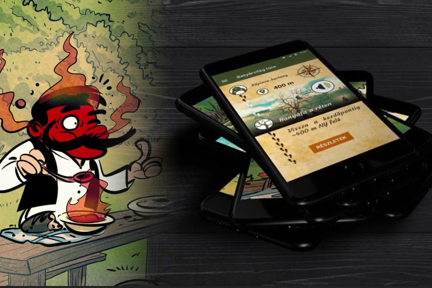 Betyárvilág túra mobil applikáció